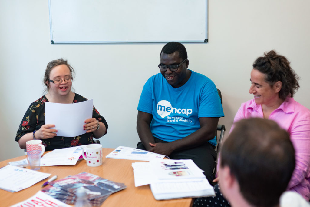 Brook and Mencap education session, 2018