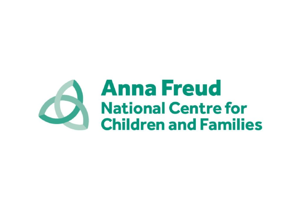 Anna Freud logo, reads: Anna Freud National Centre for Children and Families